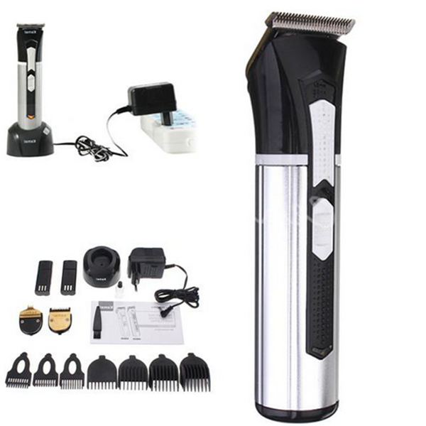 Kemei KM-3007 3 in 1 Men Electric Rechargeable Beard Trimmer