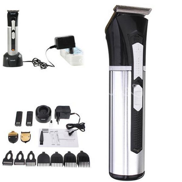 Kemei KM-3007 3 in 1 Men Electric Rechargeable Beard Trimmer