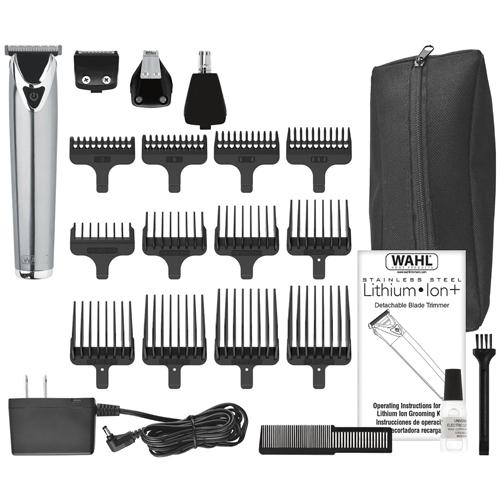 Wahl 9818 Lithium Ion Stainless Steel All-In-One