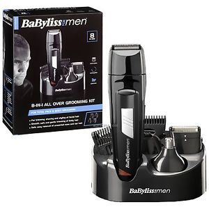 Babyliss 7056 CU Cordless Rechargeable All-Over Grooming Kit (8 In 1)