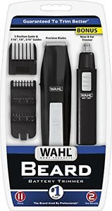 Wahl Beard Trimmer with Bonus Personal Trimmer Model 5537-1801